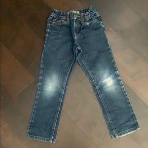 Crazy 8 boys size 6 rocker jeans